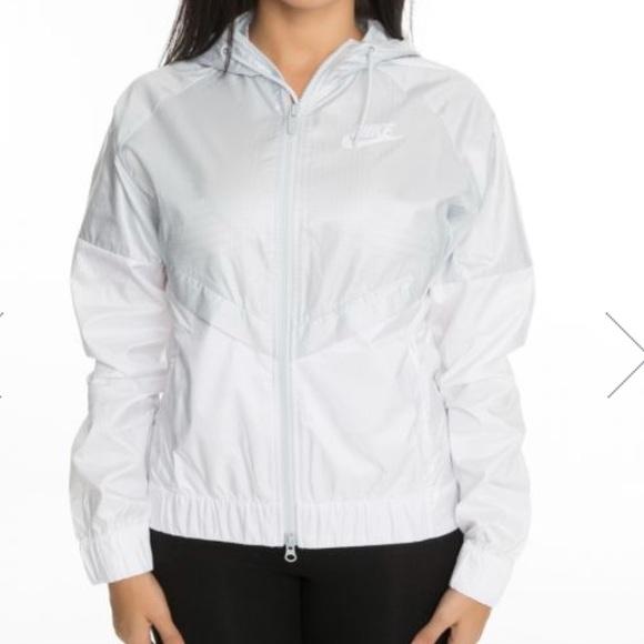 Nike Tops - Sportswear Windrunner Women's Jacket White